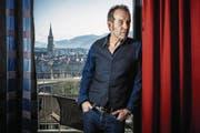 Züri-West-Sänger Kuno Lauener: «Tourneen sind für mich die ideale Form, in der Öffentlichkeit zu stehen.» (Bild: Chris Iseli / Aargauer Zeitung)