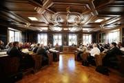 Regierungsrat und Landrat sind sich bei der Standesinitiative einig. (Bild: Corinne Glanzmann / Neue NZ)