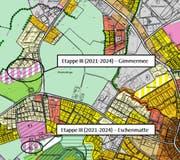 Blick auf Rothenburg. Die beiden Gebiete werden nicht an Baugenossenschaften verkauft oder im Baurecht abgegeben. (Bild: PD)