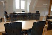 Blick in den Gerichtssaal im Rathaus in Stans (Symbolbild). (Bild: Markus von Rotz)