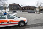 Der Tatort beim Schulhaus Wies in Heiden, auf der sich die tödliche Auseinandersetzung ereignet hat. (Bild: Keystone)