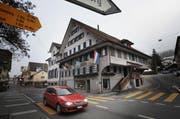 Das Restaurant Klösterli in Malters wartet auf Käufer. (Bild Eveline Bachmann/Neue LZ)