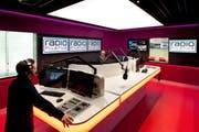 Radio Pilatus hat 2,5 Millionen Franken in die neuen Studios investiert. (Bild Radiopilatus.ch / Boris Macek)