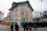 Das Restaurant zur Schmiede an der Pilatusstrasse 47. (Bild: Maria Schmid/Neue LZ)