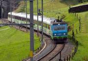 Der Voralpen-Express der Südostbahn ist auch eine wichtige und attraktive Zugverbindung durch den Kanton Schwyz. (Bild Erhard Gick)