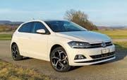 Dank besserer Proportionen ist der neue VW Polo ein junges, zeitgemässes Auto geworden. (Bild: Matthias Hafen)