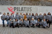 Fotoshooting auf dem Pilatus mit den schönsten Albanerinnen. (Bild: PPR / Armin Graessl)