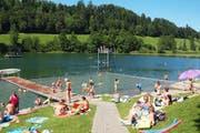 Die Rotseebadi war in der vergangenen Saison gut besucht . (Bild: PD)