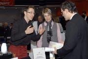 Impression von der Tischmesse. (Bild Daniela Bellandi/Neue SZ)