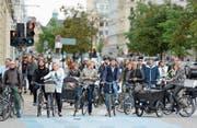 Kopenhagen gilt als beste Velostadt der Welt. Doch der Erfolg wird zunehmend zum Problem. (Bild: Frédéric Soltan/Corbis (9. November 2016))