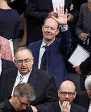 Satiriker Martin Sonneborn am Tag der Bundespräsidentenwahl. (Bild: Sean Gallup/Getty (Berlin, 12. Februar 2017))