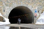 Der Tunnel auf dem Sustenpass bedarf einer Sanierung. (Bild: René Meier / Luzernerzeitung.ch)