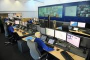 Mit dem Polycom-Netz ist die Kommunikation über die Kantonsgrenzen möglich, zum Beispiel zur Luzerner Polizei. (Bild: Archiv Neue LZ)