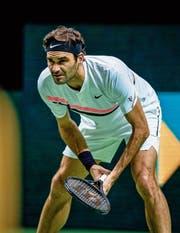 Rotterdam wird zu Rogerdam: Federer steht im Final. (Bild: Jan Kok/Getty (Rotterdam, 15. Februar 2018))