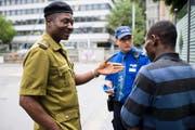 Im Rahmen der Migrationspartnerschaft der Schweiz mit Nigeria weilten erste afrikanische Drogenfahnder zu Ausbildungszwecken in der Schweiz. (Bild: Keystone/Ennio Leanza)