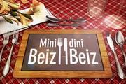 Die SRF-Sendung «Mini Beiz, dini Beiz» ist ab Montag, 14. März, im Kanton Luzern zu Gast. (Bild: SRF)