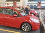 Nicht nur in Zürich ein Erfolg: Autoteilet von Mobility. (Bild: Gaetan Bally/Keystone (Zürich, 23. September 2014))