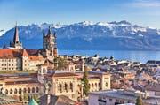 Charmant und mit grandioser Naturkulisse: Lausanne. Dank dem Mitfahrbillett jetzt zu zweit besonders günstig erreichbar.