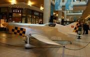 Das Kleinmotorflugzeug Esprit VFII. (Bild Verkehrshaus)