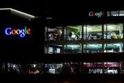 Blick auf das Google-Gebäude in Zürich (Archivbild). (Bild: Ennio Leanza / Keystone)