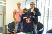 Enzo Ruiz (l.) und Heinz Hermann. (Bild: PD)