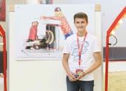 Luca Blum aus Doppleschwand siegt in der Kategorie Einzelkünstler Jugendliche. (Bild: PD)