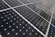 Uri setzt auf erneuerbare Energien (hier eine Fotovoltaikanlage). (Bild Boris Bürgisser)