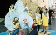 Die English Theatre Group bei der Hauptprobe. (Bild: Stefan Kaiser (Zug, 27. September 2017))