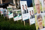 Im Jahr 2014 stehen in sechs Kantonen, darunter drei Zentralschweizer Kantonen, wie hier in Zug, Wahlen an. (Symbolbild) (Bild: Stefan Kaiser / Neue ZZ)