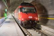 Ab August geht es mit dem «Gottardino» durch den neuen Tunnel.