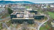 Hauptsitz der Helvetia Group in St. Gallen. (Bild: Hanspeter Schiess, Benjamin Manser (30. Januar 2018))
