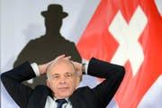 Bundesrat Ueli Maurer ist ein gefragter Festredner. (Bild: Keystone/Laurent Gilliéron)