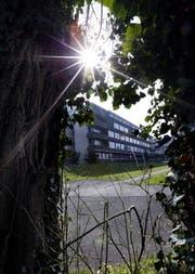 Hier auf dem Areal des alten Kantonsspitals ist das neue Zuger Kunsthaus geplant. (Bild: Werner Schelbert / Neue ZZ)