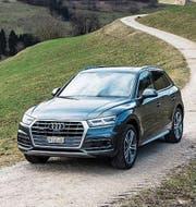 Der neue Audi Q5: Grösser und dennoch leichter. (Bild: pd)