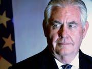 """US-Aussenminister Rex Tillerson sieht Russland als """"wahrscheinlichen"""" Urheber des Giftanschlags auf einen Ex-Spion in Grossbritannien. (Archivbild) (Bild: KEYSTONE/AP Pool REUTERS/JONATHAN ERNST)"""
