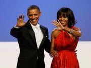 Verkauften weniger Bücher: Barack und Michelle Obama (Archiv) (Bild: Keystone)