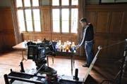 Regisseur Felice Zenoni am Set des Films «Danioth – der Teufelsmaler». Für den Film sprach der Kanton Uri 2014 einen Beitrag von 16 000 Franken. (Bild: PD)