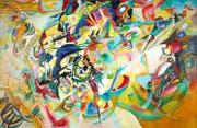 Zwei wegweisende Werke: Wassily Kandinskys «Komposition VII» und ... (Bild: PD/Galerie nationale Tretiakov/Städel Museum)