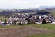 Das Dorf Neuheim. (Bild: Werner Schelbert (Neuheim, 22. Februar 2027))