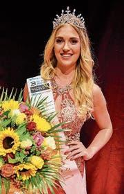 Die neue Miss Zentralschweiz: Fabienne Paglia (22), Studentin aus Unterägeri. (Bild: PD)