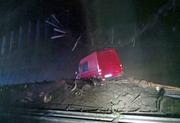 Die Schlammlawine hat die Autobahn auf einer Breite von 50 Metern verschüttet. (Bild: PD)