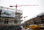 In Sursee werden wie hier auf dem Hofstetterfeld viele neue Wohnungen gebaut - derzeit aber noch keine vergünstigten. (Archivbild Manuela Jans / Neue LZ)