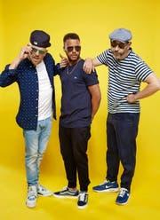 Jan Delay, Denyo und DJ Mad (von links) sind die Beginner. (Bild: PD/David Königsmann)