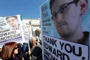 Whistleblower Edward Snowden löste auch in seiner Heimat, den USA, Proteste gegen die Praktiken des US-Geheimdienstes NSA aus. (Bild: Keystone/Jose Luis Magana)
