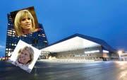 Francine Jordi und Hans Hinterseer treten am 7. Mai in der Zuger Bossard-Arena auf. (Bilder: Stefan Kaiser / Keystone)