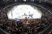 Die EVZ-Fans werden die Bossard-Arena wieder zum Kochen bringen. (Archivbild Stefan Kaiser)