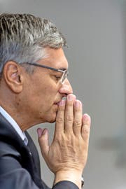 Hat sich wegen missbräuchlicher Verwendung seiner Aussagen gegen die SVP Schweiz durchgesetzt: der Luzerner Regierungsrat Guido Graf. (Bild Roger Grütter)