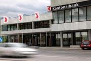 Der Hauptsitz der Schwyzer Kantonalbank in Schwyz. (Bild Laura Vercellone/Neue SZ)