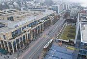 Das Einkaufszentrum Metalli in Zug. (Bild Dominik Hodel/Neue ZZ)