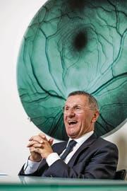 Jürg Bucher, Verwaltungsratspräsident der Valiant Bank. (Bild: Philipp Schmidli (Bern, 12. Dezember 2017))